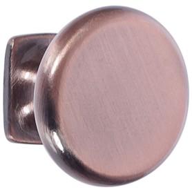 Ручка-кнопка RK-048, ЦАМ, цвет медь