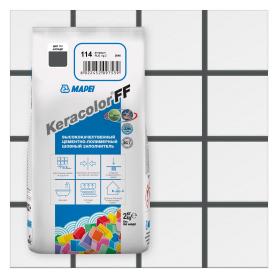 Затирка Mapei Keracolor FF 114 цвет антрацит 2 кг