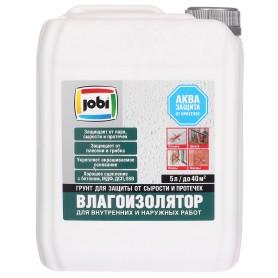 Грунтовка влагоизолятор Jobi, 5 л