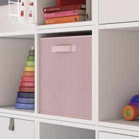 Короб Spaceo Kiss 31х31х31 см 29.7 л полиэстер цвет розовый