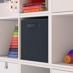 Короб Spaceo Paris 31х31х31 см 29.7 л полиэстер цвет чёрный