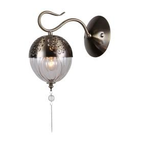 Бра «Faberge» 594/1А 1хЕ14х40 Вт цвет античная бронза