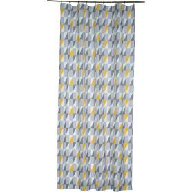 Штора на ленте «Сканди», 160х260 см, цвет серый