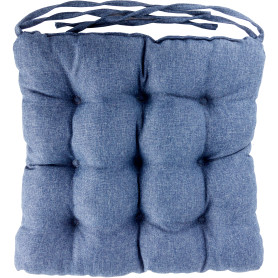 Сидушка «Савана», 40x36 см, цвет синий