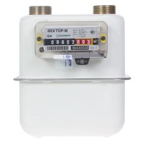 Счётчик для газа Вектор 4 диафрагменный, правый