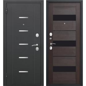 Дверь входная металлическая Гарда Муар, 960 мм, левая, цвет тёмный кипарис
