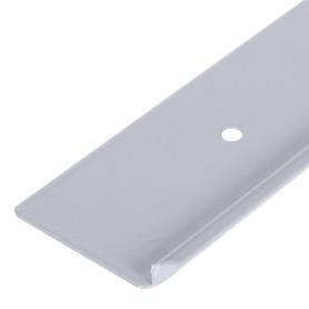 Профиль торцевой RAL9003 (R3) 38 мм, металл, цвет белый