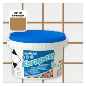Затирка эпоксидная Mapei Kerapoxy N.142 цвет коричневый 2 кг