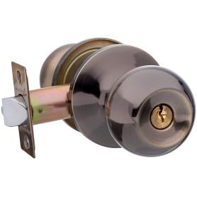 Ручка-защёлка Avers 6072-01-AB, с ключом и фиксатором, сталь, цвет античная бронза