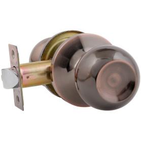 Ручка-защёлка Avers 6082-05-AC, без запирания, сталь, цвет старая медь