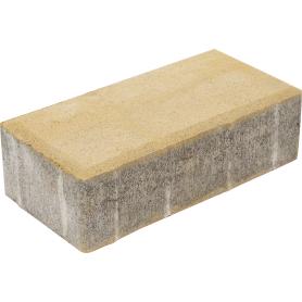 Плитка тротуарная двухслойная Braer 200х100х40 мм цвет песочный