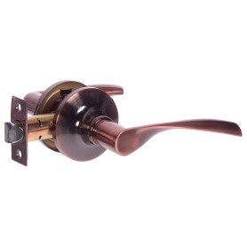 Ручка-защёлка Avers 8023-05-AC, без запирания, сталь, цвет старая медь