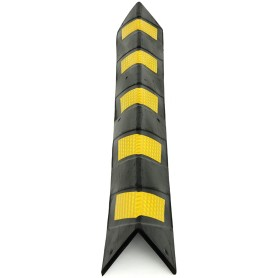 Отбойник для стен угловой, 1 м, резина