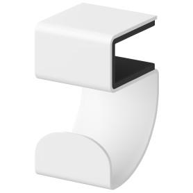 Крючок-вешалка Spaceo KUB цвет белый