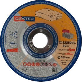 Диск отрезной по камню Dexter, 125x3x22 мм
