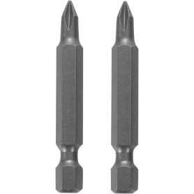 Биты Dexter, PH1, 50 мм, 2 шт.