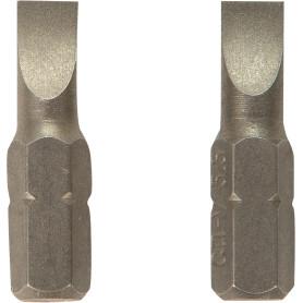 Биты Dexter, SL5.5, 25 мм, 2 шт.