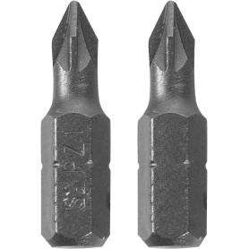 Биты Dexter, PZ1, 25 мм, 2 шт.