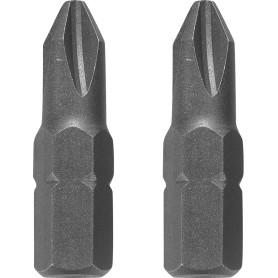 Биты Dexter, PH2, 25 мм, 10 шт.