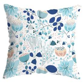 Подушка декоративная «Голубой лотос», 40х40 см