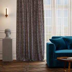 Штора на ленте «Севилья», 160х260 см, цвет сиреневый