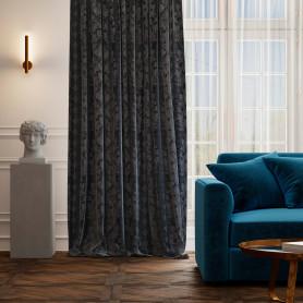 Штора на ленте «Севилья», 160х260 см, цвет синий