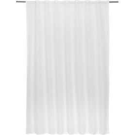 Тюль на ленте «Симфония» 140х180 см цвет белый