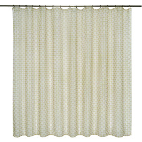 Тюль на ленте «Outline», 250х180 см, цвет фисташковый