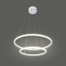 Светильник подвесной светодиодный Вита SMD, 9 м², тёплый белый свет, цвет белый
