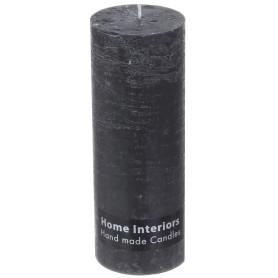 Свеча-столбик «Рустик», 7х19 см, цвет графит