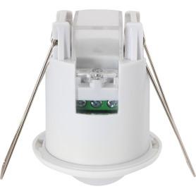 Датчик движения встраиваемый Mini потолочный, радиус действия 3 м, 800 Вт, цвет белый, IP20