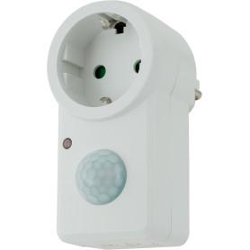 Датчик движения-розетка Smart Socket, 1200 Вт, цвет белый, IP20
