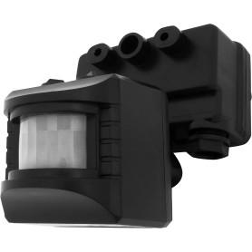 Датчик движения накладной для прожектора, 1100 Вт, цвет чёрный, IP44