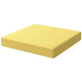 Подушка на сиденье Spaceo Kub Banana 38х38 см цвет жёлтый