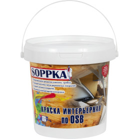 Краска интерьерная Soppka OSB, 1 л