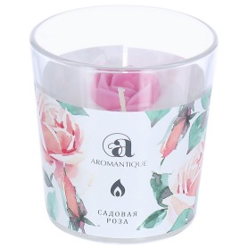 Ароматизированная свеча «Садовая роза»