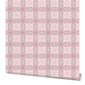 Обои флизелиновые Палитра Lagom розовые 1.06 м PL71106-15