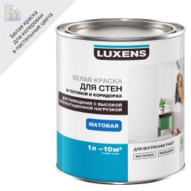Краска для стен и потолков Luxens база A 1 л