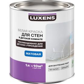 Краска для стен в детской комнате Luxens база A 1 л