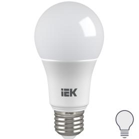 Лампа светодиодная IEK «Шар», E27, 11 Вт, 4000 К, свет холодный белый