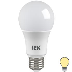 Лампа светодиодная IEK «Шар», E27, 11 Вт, 3000 К, свет тёплый белый