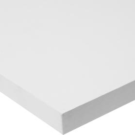 Деталь мебельная Премиум 800х200х16 мм ЛДСП, цвет белый, кромка со всех сторон