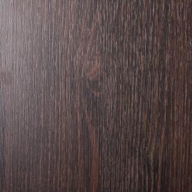 Деталь мебельная 800х300х16 мм ЛДСП, цвет дуб термо тёмный, кромка со всех сторон