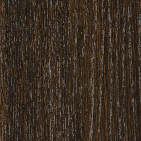 Деталь мебельная 2700х300х16 мм ЛДСП, цвет дуб термо тёмный, кромка с длинных сторон