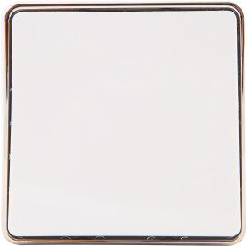 Выключатель накладной Werkel Gallant 1 клавиша, цвет белый