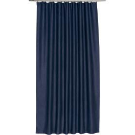 Штора на ленте «Велюр», 160х260 см, цвет синий