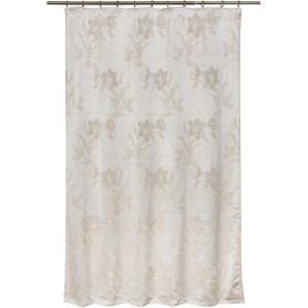Штора на ленте «Нарцисс», 135х180 см, цвет молочный