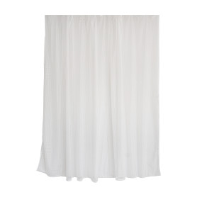 Тюль на ленте «Жаккард», 250х180 см, цвет белый