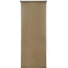Штора рулонная Inspire «Меланж», 50х160 см, цвет бежевый
