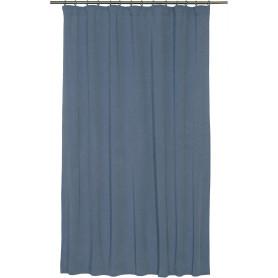Штора на ленте «Шарлот», 140х180 см, цвет синий